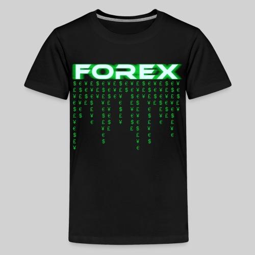 Forex Trading Matrix (Premium Kids/Youth T-Shirt) - Kids' Premium T-Shirt