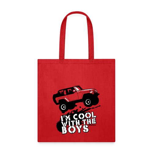 Offroad Girl - I'm Cool With The Boys! - Tote Bag