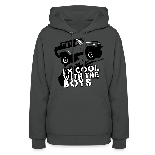 Offroad Girl - I'm Cool With The Boys! - Women's Hoodie