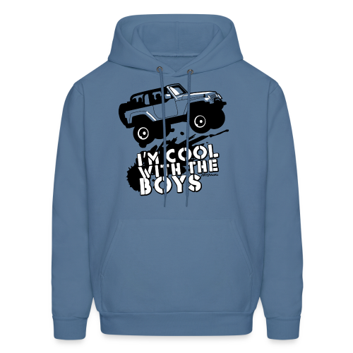 Offroad Girl - I'm Cool With The Boys! - Men's Hoodie
