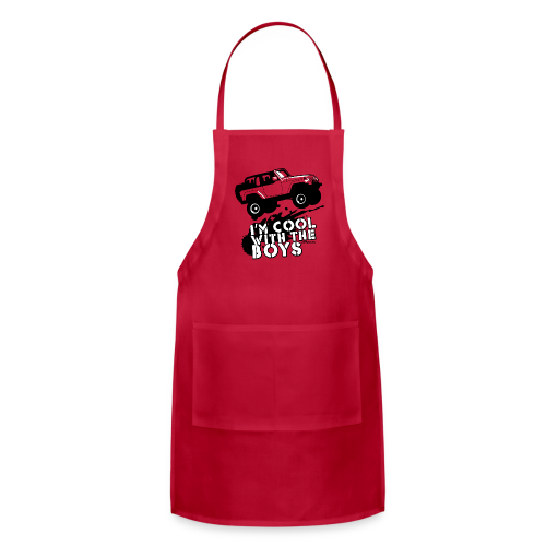 Offroad Girl - I'm Cool With The Boys! - Adjustable Apron