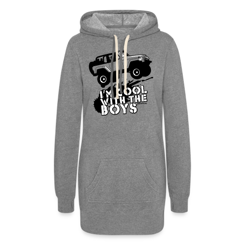 Offroad Girl - I'm Cool With The Boys! - Women's Hoodie Dress