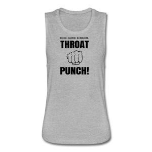 Throat Punch - Women's Flowy Muscle Tank by Bella