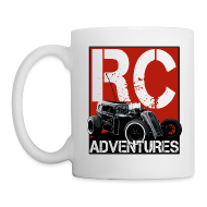 Mugs & Drinkware ~ Coffee/Tea Mug ~ RC ADVENTURES - Dark Dragster Coffee Cup