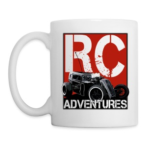 RC ADVENTURES - Dark Dragster Coffee Cup - Coffee/Tea Mug