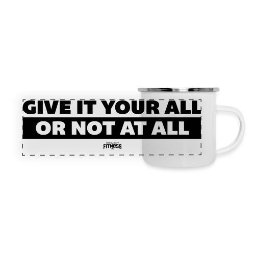 Give it Your All Mug - Panoramic Camper Mug