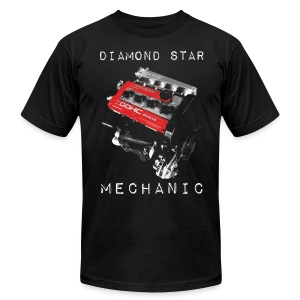 Diamond Star Mechanic - Men's Fine Jersey T-Shirt