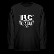 Kids' Shirts ~ Kids' Long Sleeve T-Shirt ~ Kids - Long Sleeve Shirt - RCSparks Shield