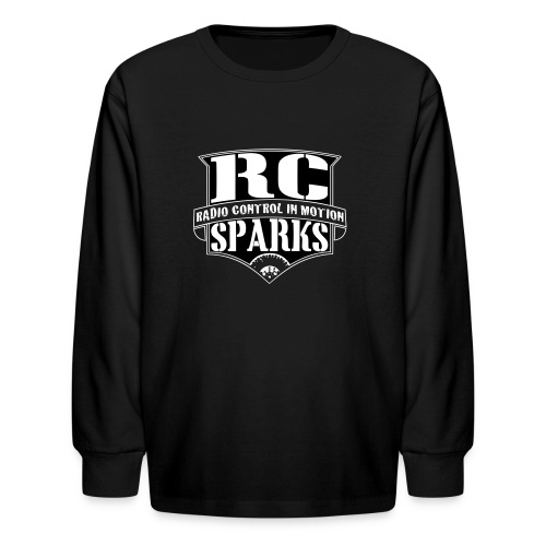 Kids - Long Sleeve Shirt - RCSparks Shield  - Kids' Long Sleeve T-Shirt