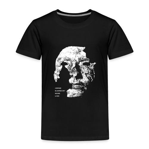 Jorge Elbrecht 'Here Lies Toddler Shirt - Toddler Premium T-Shirt