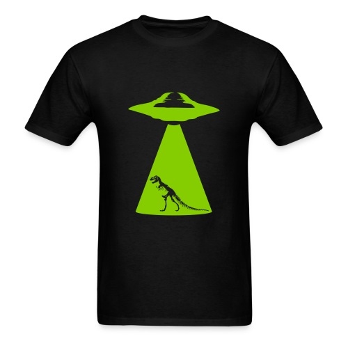 UFO Trex Abduction - Men's T-Shirt