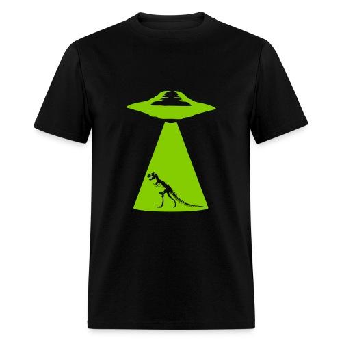 UFO Trex Abduction - Men's T-Shirt