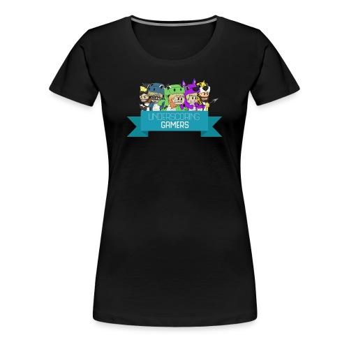 Women's Underscoring Gamers trio Classic T-shirt - Women's Premium T-Shirt