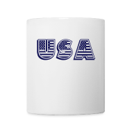 Mugs & Drinkware ~ Coffee/Tea Mug ~ United States of America USA EEUU