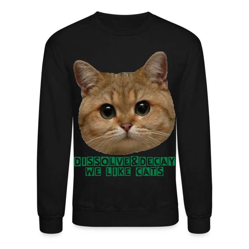 D&D cats - Crewneck Sweatshirt