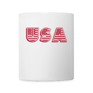 Mugs & Drinkware ~ Coffee/Tea Mug ~ United States of America USA EEUU