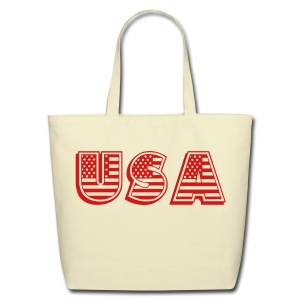 United States of America USA EEUU - Eco-Friendly Cotton Tote
