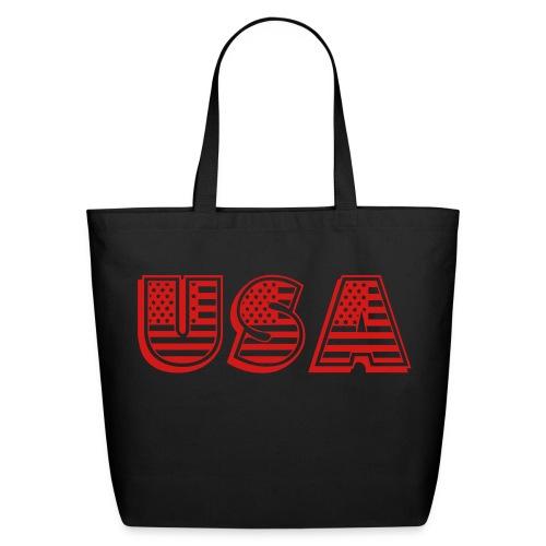 United States of America USA EEUU - Eco-Friendly Cotton Tote
