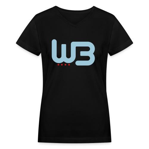 WCB Classic V - Women - Women's V-Neck T-Shirt