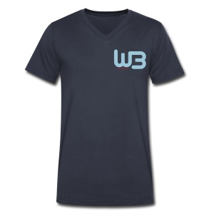 WCB Work V - Men - Men's V-Neck T-Shirt by Canvas