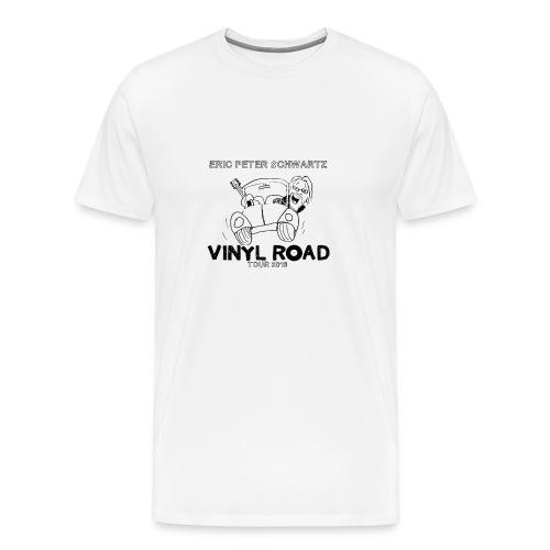 Vinyl Road Tour 2016  T-shirt - Men's Premium T-Shirt