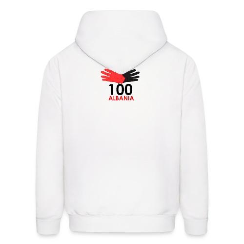 Pulover me zinxhir 100 Albania - Men's Hoodie