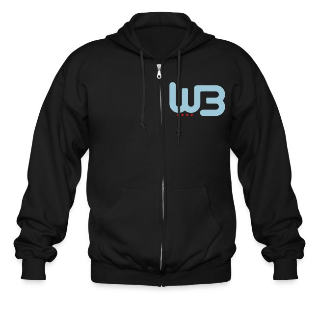 WCB simple Zipped Hoodie - Men