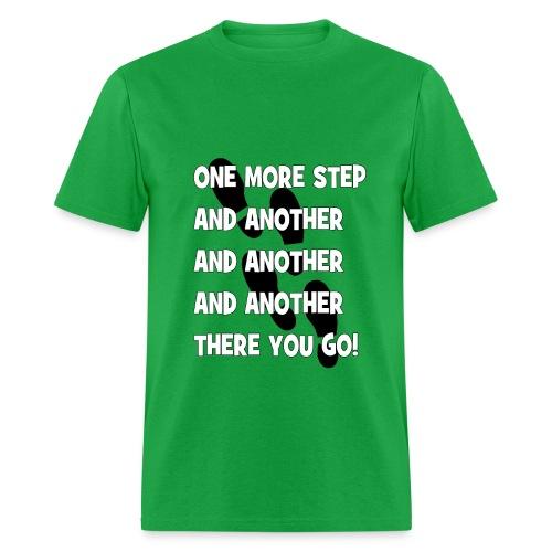 STEPS (Men) - Men's T-Shirt