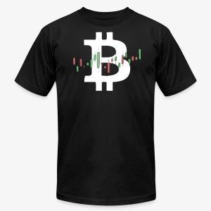 Bitcoin Charts - Men's Fine Jersey T-Shirt