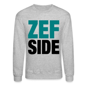 Zef Side Sweatshirt - Crewneck Sweatshirt