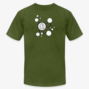 Litecoin Network - Men's Fine Jersey T-Shirt