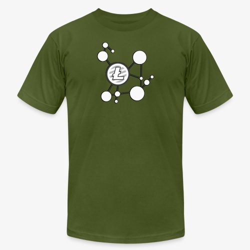 Litecoin Network - Men's Fine Jersey T-Shirt