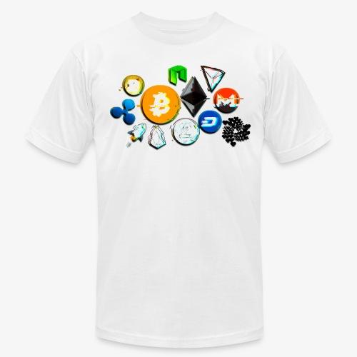 Crypto Distortion - Men's Fine Jersey T-Shirt