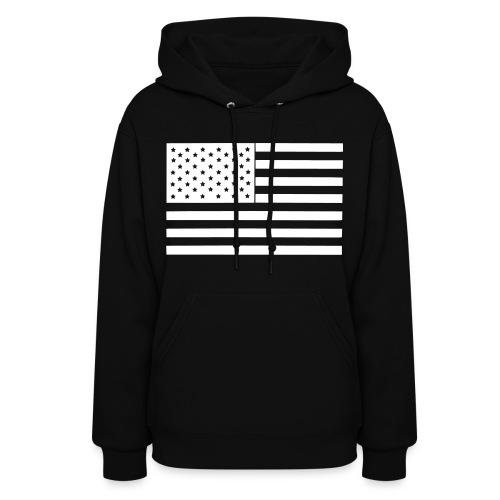Women's Hoodie - usa,themadness,hoodie,dope,designs,american flag,america