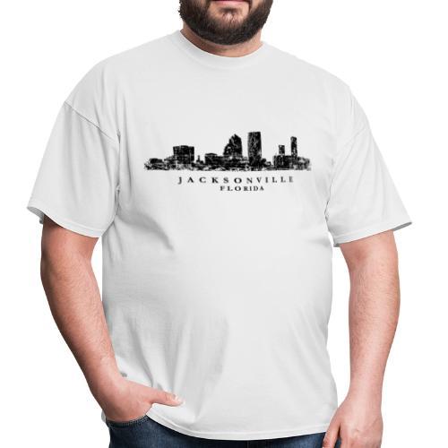 Jacksonville, Florida Skyline T-Shirt - Men's T-Shirt