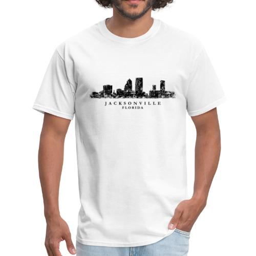 Jacksonville, Florida Skyline (Ancient Black)