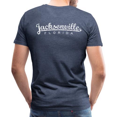 Jacksonville, Florida Classic T-Shirt (Ancient White) - Men's Premium T-Shirt