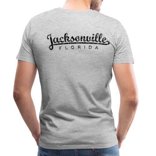 Jacksonville, Florida Classic T-Shirt (Ancient Black) - Men's Premium T-Shirt