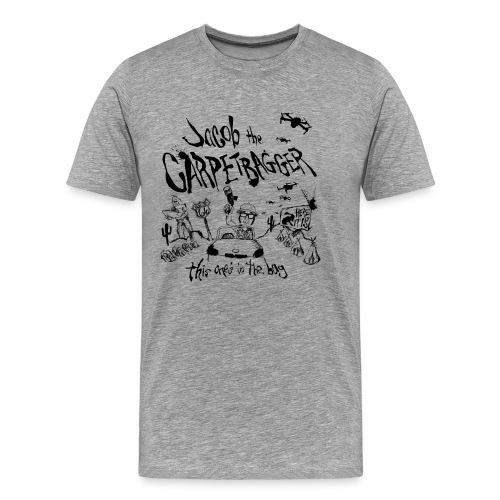 Carpetbagger Fear and Loathing Shirt - Men's Premium T-Shirt
