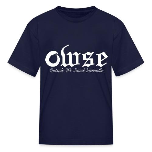 W - Kid's Outside We Stand Eternally - Kids' T-Shirt