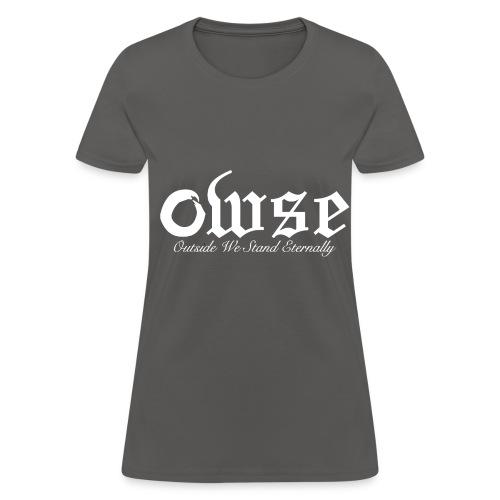 W - Women's Outside We Stand Eternally - Women's T-Shirt