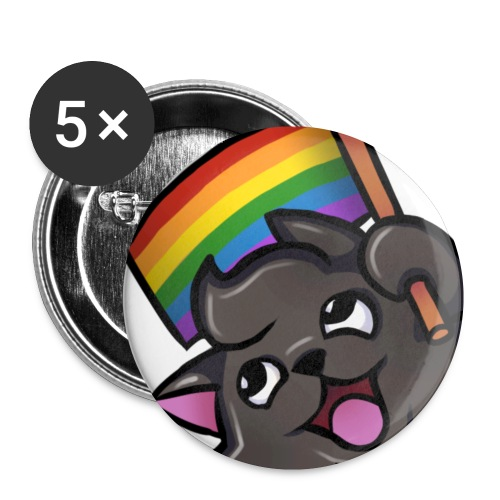 Coolcat Small Pride Pin - Small Buttons
