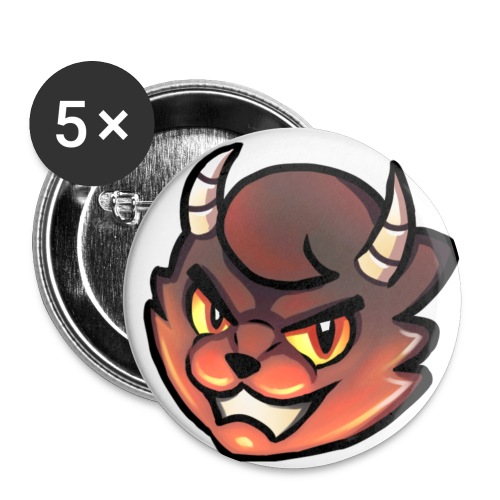 Coolcat Small Devil Pin - Small Buttons