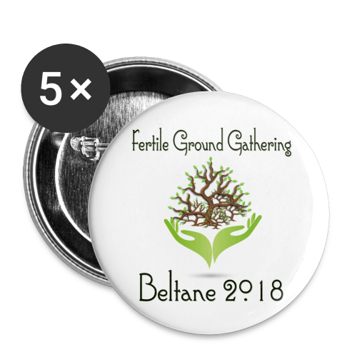 FGG 2018 Large Buttons (5-pack) - Large Buttons
