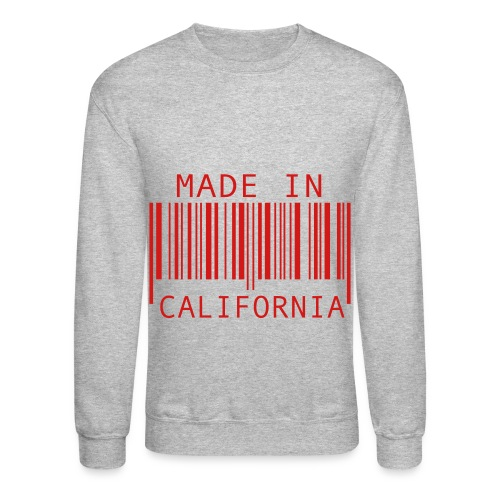 Made in California Crewneck Sweatshirt - Crewneck Sweatshirt