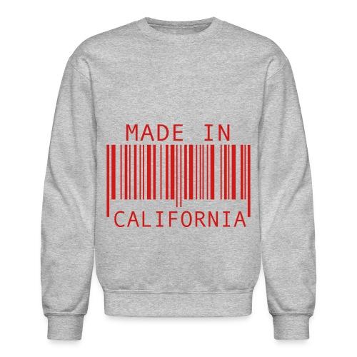 Made in California Crewneck Sweatshirt - Crewneck Sweatshirt