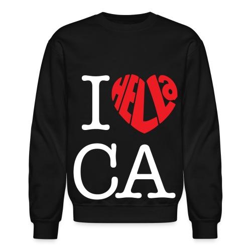 Love California Crewneck Sweatshirt  - Crewneck Sweatshirt