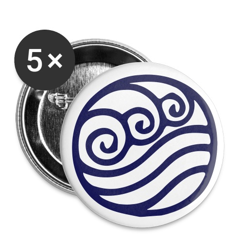 Water Tribe Pin - Small Buttons