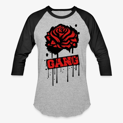 ROSE GANG SHIRT - Baseball T-Shirt