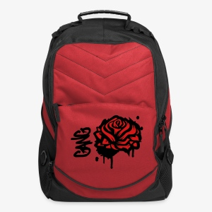 Rose bookbag - Computer Backpack